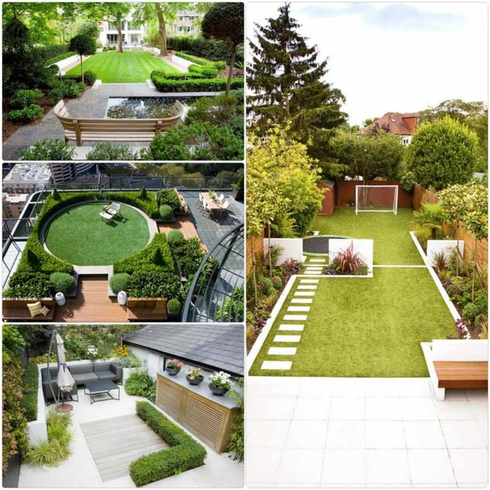 Wie können Sie der Garten Gestaltung einen kreativen Touch ...