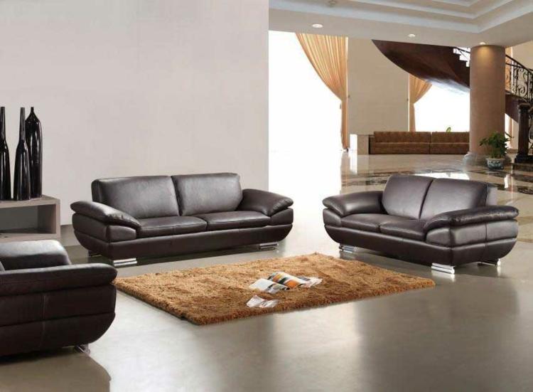 italienische sofas pianca italienische designermöbel ledersofa braun