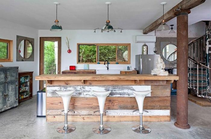 küchendesign industriell vintage elemente
