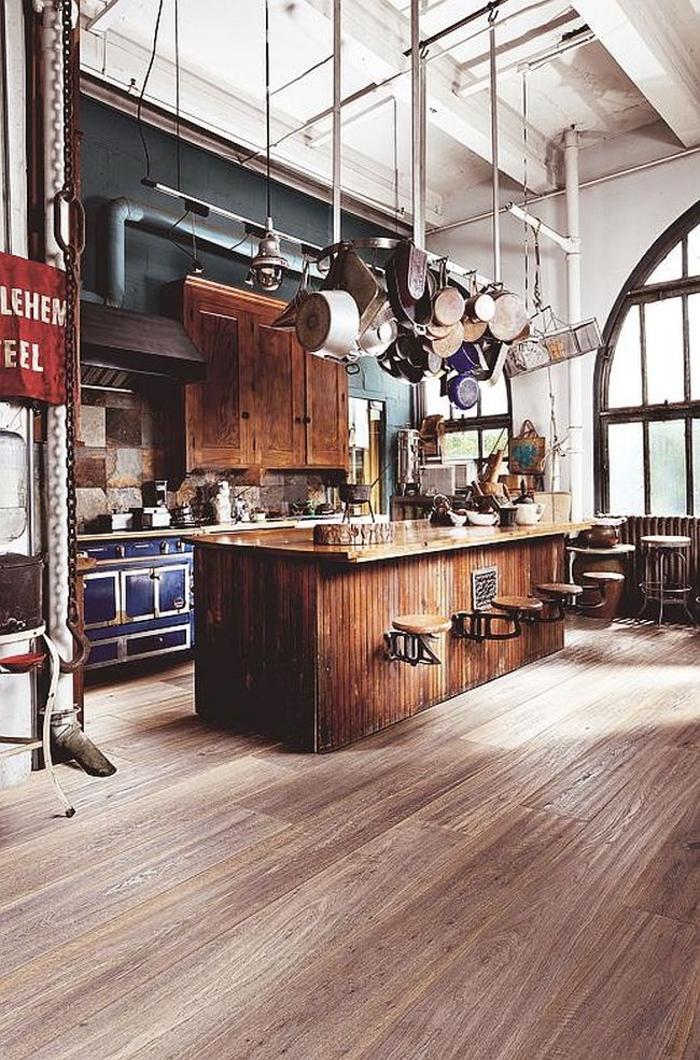 küchendesign ideen küchenausstattung ausstellen industriell