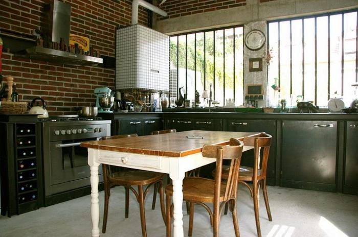 küchendesign kleine küche funktional gestalten