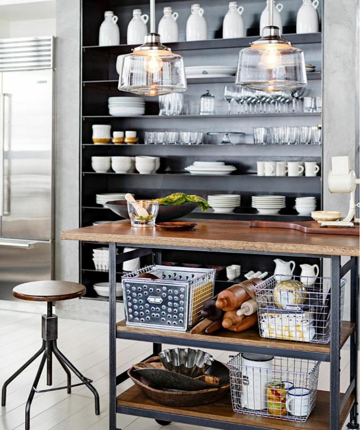 100 kücheneinrichtung beispiele mit industriellem look, Kuchen