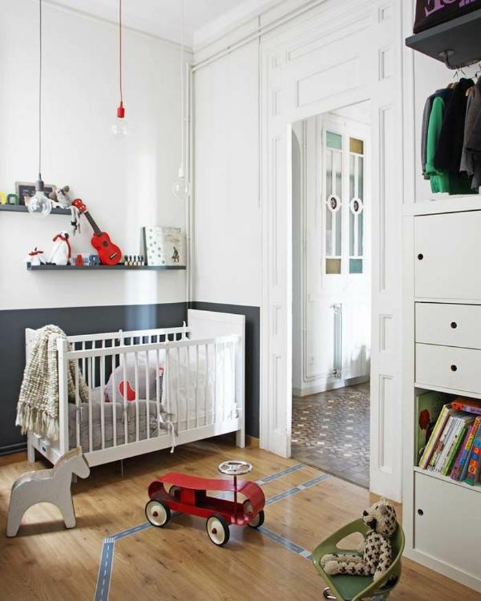 kinderzimmer gestalten babyzimmer pendelleuchten