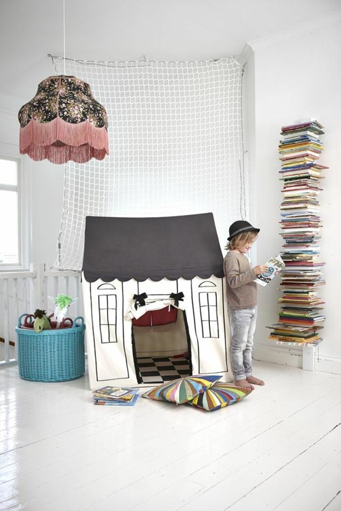 kinderzimmer gestalten cooler leuchter kiderspielhaus