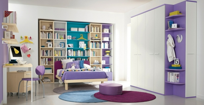 kinderzimmerteppich runde teppiche farbig