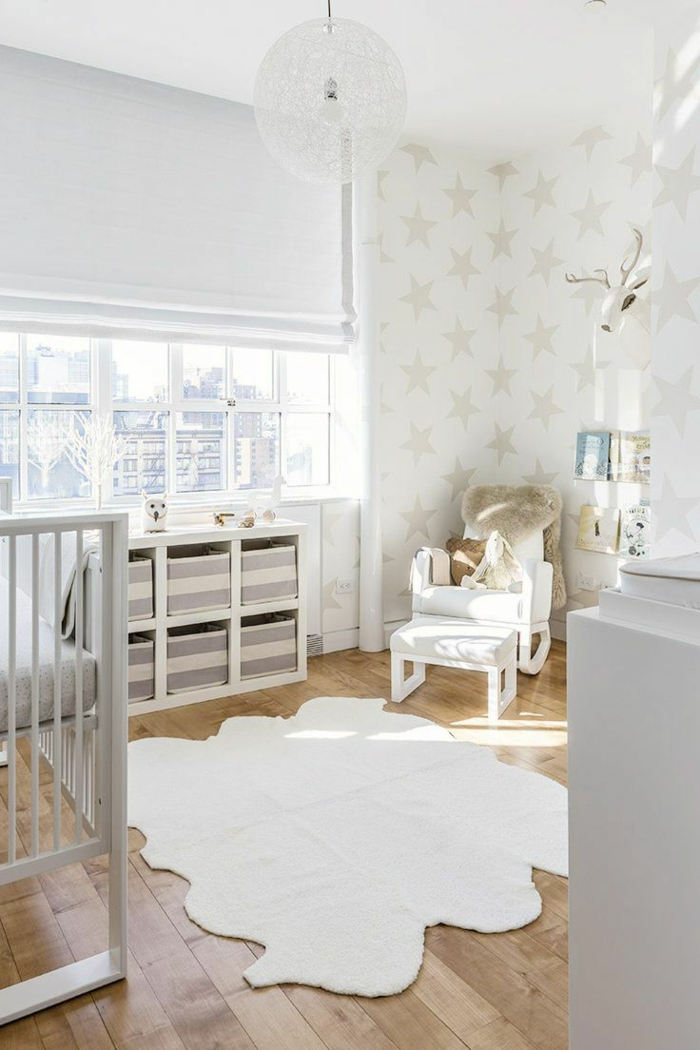 kinderzimmer teppich weiß ausgefallen kinderzimmer dekorieren