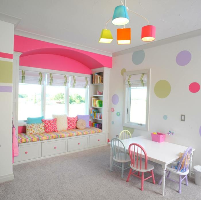 kinderzimmerlampen cooler leuchter farbige elemente