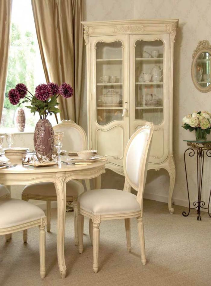 landhausstil möbel esszimmer gestalten schöne wohnideen