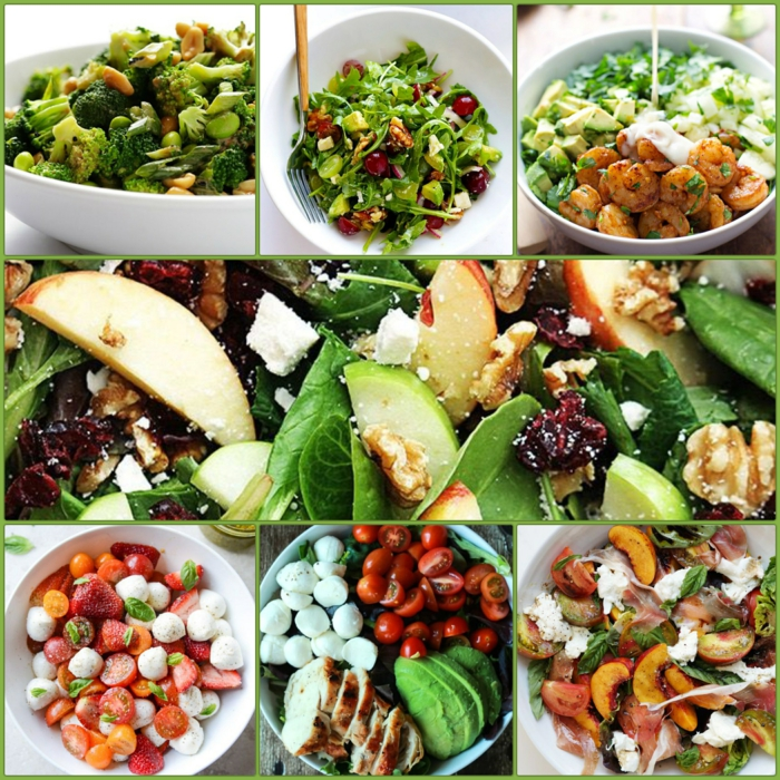 leckere salate zum abnehmen salatrezepte gesunde ernährung