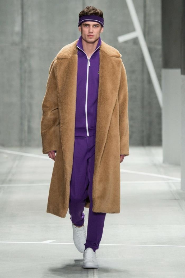 männerkleidung aktuelle modetrends unisex mantel