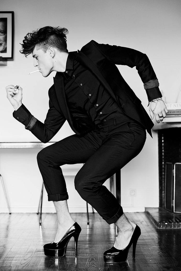 männerkleidung aktuelle modetrends unisex schuhe