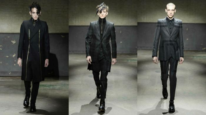 männerkleidung tendenzen aktuelle modetrends alexander mcqueen