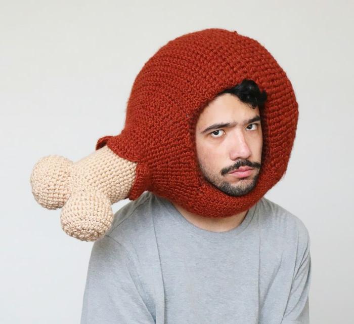 Mütze Häkeln Außergewöhnliche Strickarbeiten Von Phil Ferguson