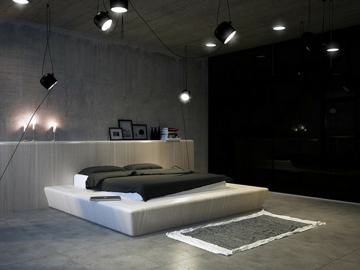 schlafzimmer beleuchtung modern. Black Bedroom Furniture Sets. Home Design Ideas