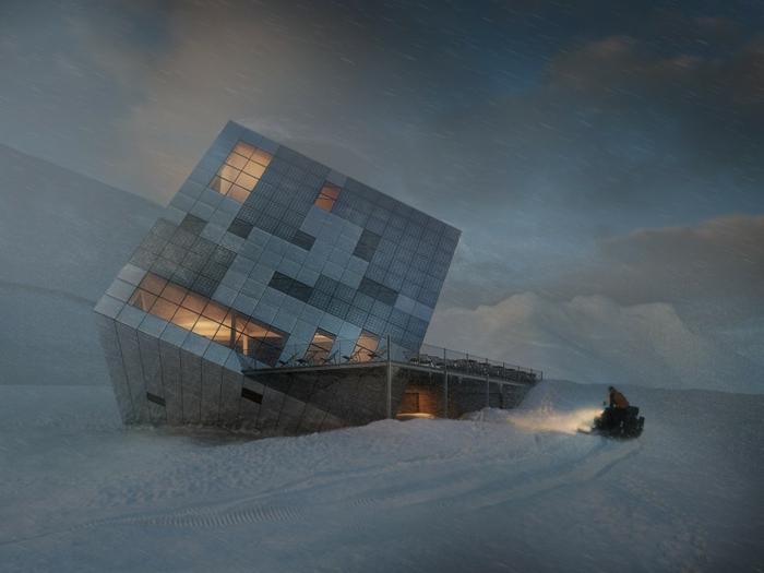 nullenergiehaus qubistisch kubus erneuerbare energie