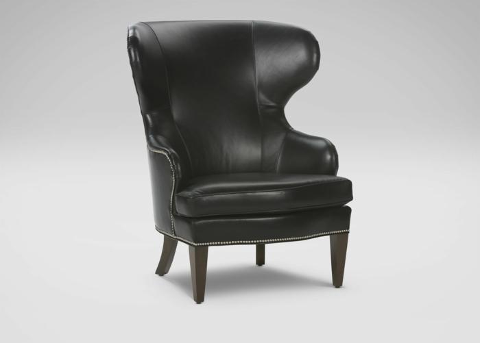 der ohrensessel zeitloser komfort und wohnliche eleganz. Black Bedroom Furniture Sets. Home Design Ideas