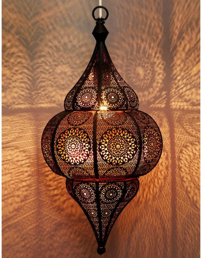 herrliche orientalische lampen f r ihr zuhause. Black Bedroom Furniture Sets. Home Design Ideas