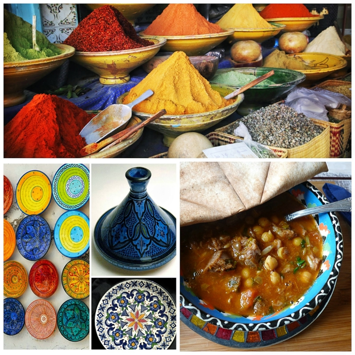 orientalische rezepte gewürze farben