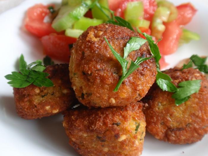 orientalische rezepte kichererbsen spezialität falafel