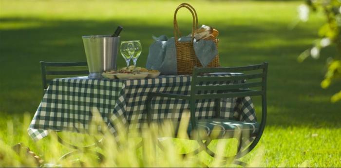 outdoor tische picknick