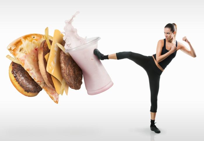 oxidativer stress junk food vermeiden