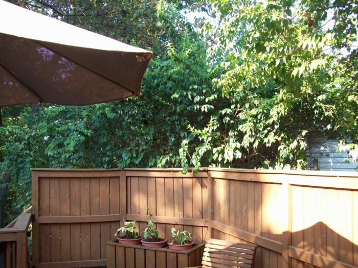 Balkon Holz Streichen Mieter