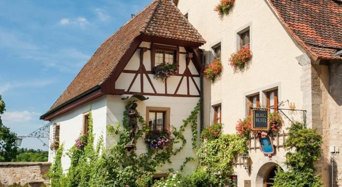 romantik hotels rothenburg ob der tauber burghotel