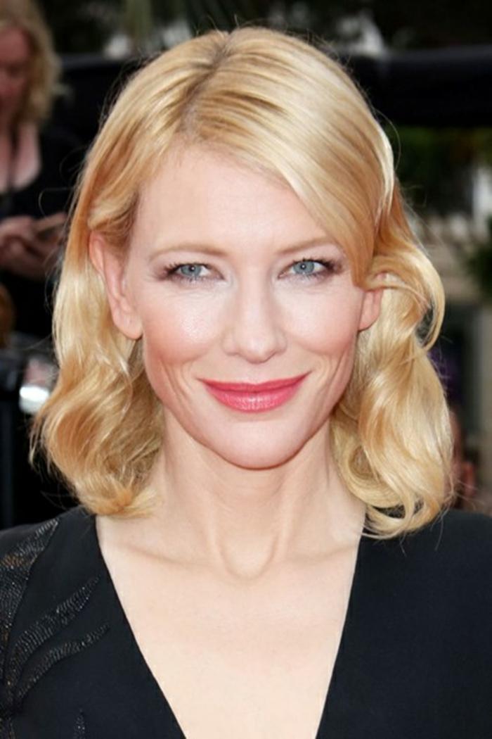 romantische haarschnitte berühmtheiten Cate Blanchett