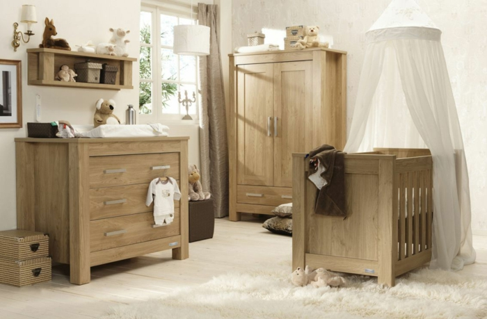 Babyzimmer Eiche Cool Babybett Kira Kinderbett Bett Bettkasten