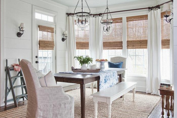 rustikale möbel esszimmer gestalten esstisch holz landhausstil