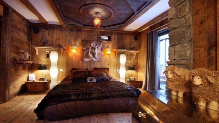 Schlafzimmer Rustikal ~ Die Beste Heimatentwurf Inspiration Schlafzimmer Rustikal
