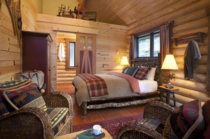 Wohnideen Schlafzimmer Rustikal ~ Interieurs Entwerfen Inspiration ... Schlafzimmer Rustikal