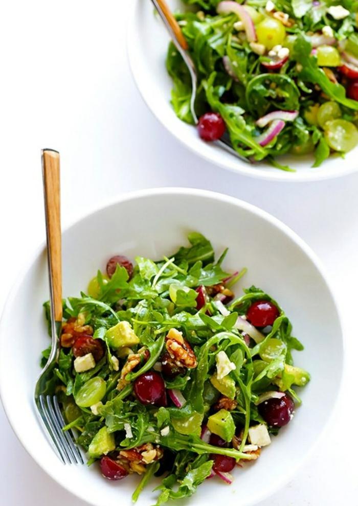 salate zum abnehmen salatrezepte mit rucola