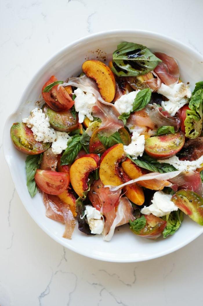 salate zum abnehmen salatrezepte obst gemüse salat