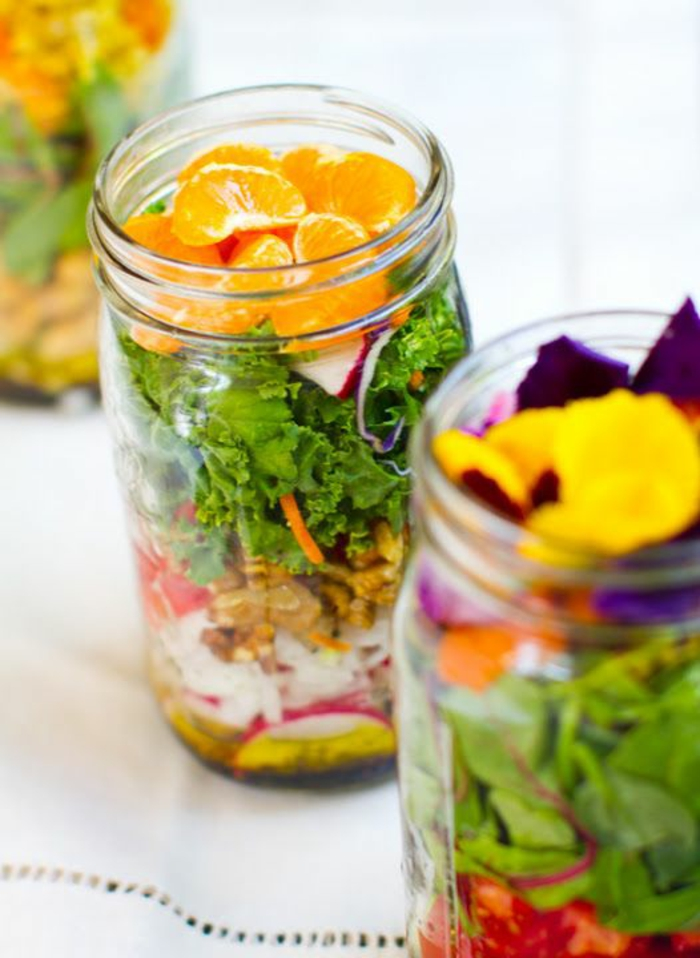 salate zum abnehmen salatrezepte produkte im glas
