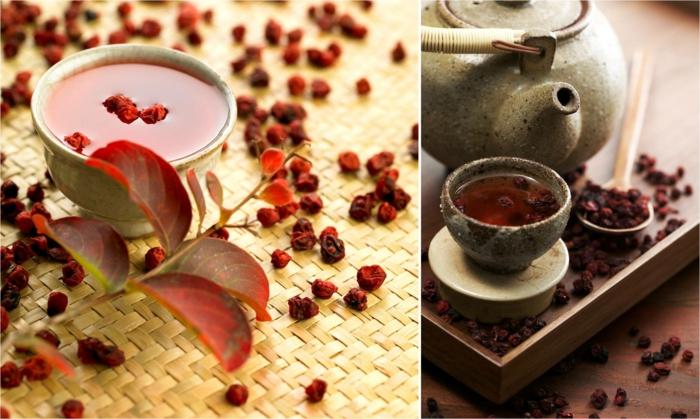 schisandra beeren asiatisch tee kochen