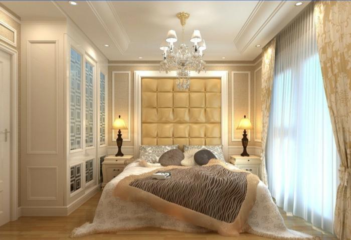 schlafzimmermöbel kleines schlafzimmer luxuriös