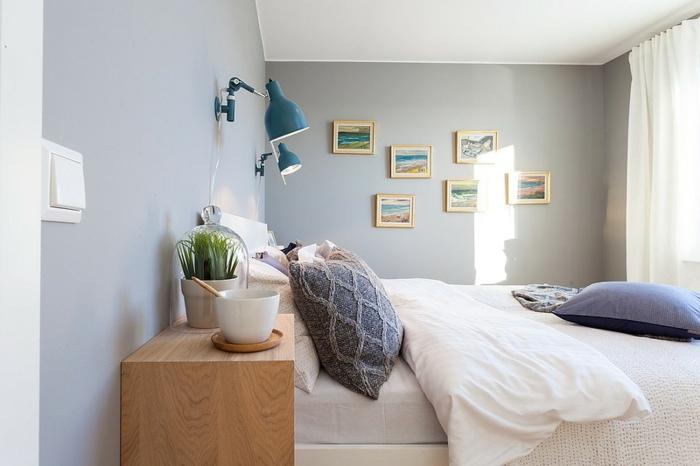 Hellgraue Wand schlaf gut tipps für die richtige zimmereinrichtung