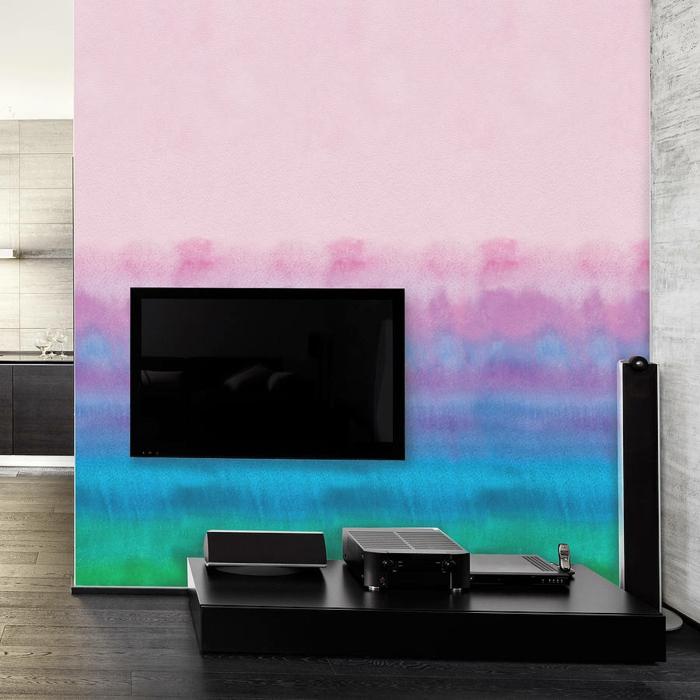 selbstklebende tapete ombre stil verschwomene farben