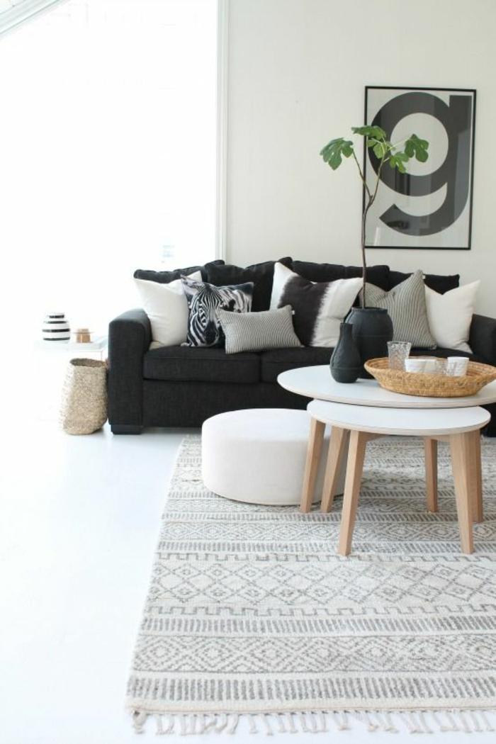 skandinavische teppiche skandinavische möbel wohnzimmer