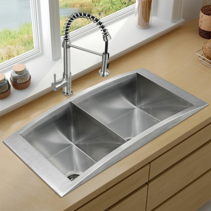 Spülbecken aussuchen Die Küche modern und funktional