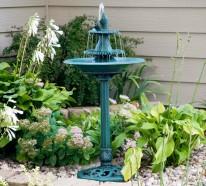 Verschönern Sie Ihren Garten oder Balkon mit einem Springbrunnen!