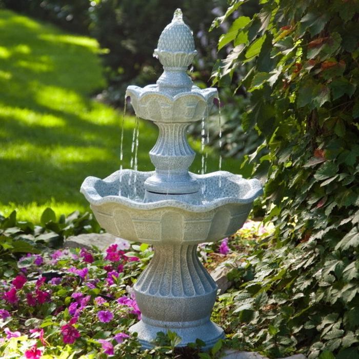 Versch nern sie ihren garten oder balkon mit einem springbrunnen - Kleiner springbrunnen garten ...