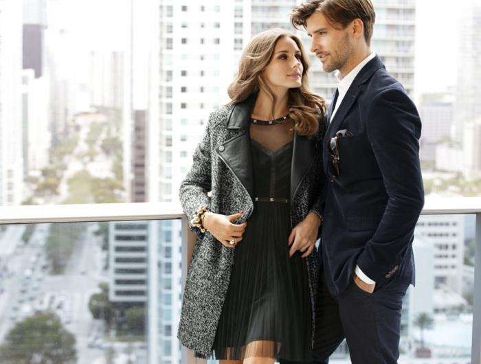 styling tipps männer Johannes Huebl und Olivia Palermo