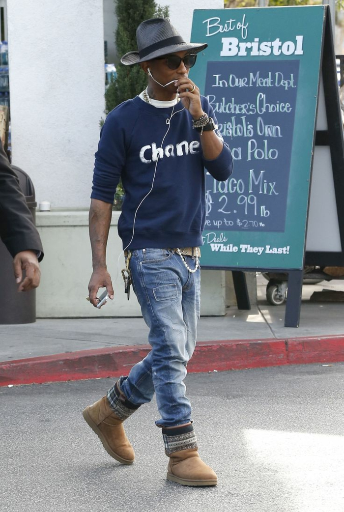 styling tipps männer Pharrell Williams casual style
