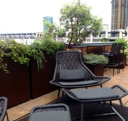 Pflanzgef E Au Enbereich moderne terrassengestaltung einen luxuriösen außenbereich gestalten
