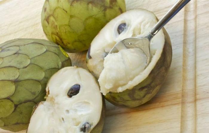 exotische früchte cherimoya