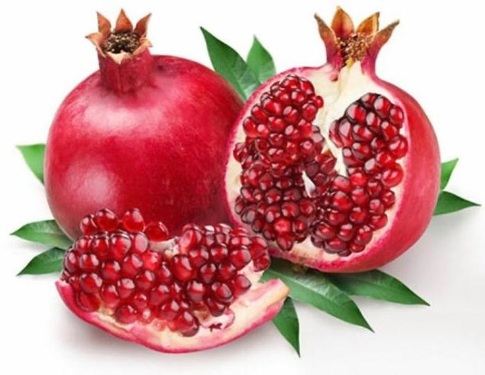 exotische früchte granatapfel