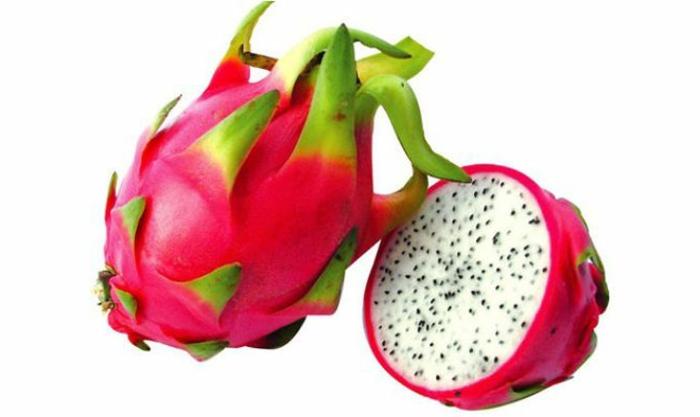 tropische früchte pitahaya pitaya drachenfrucht