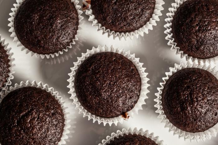 vegane schokolade zubereiten kleine törtchen